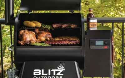 TRAEGER THE OFFICIAL GRILL OF BLITZ OUTDOORS